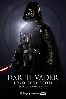 Sideshow Collectibles【黑武士 達斯‧維德】Darth Vader 1/4 比例 全身雕像