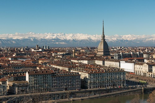 Turin and the Alps.