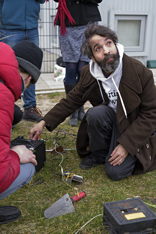 Earth Coding workshop by Martin Howse & Nik Gaffney_Sonic Acts Festival 2015, The Geologic Imagination