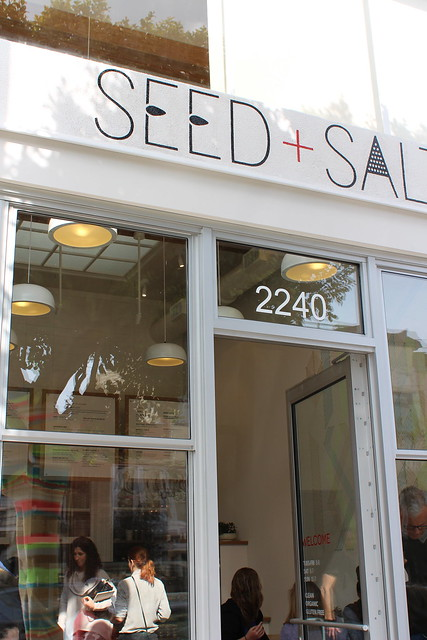 Seed+Salt Entrance
