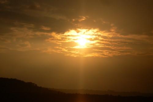 SANY0106:Sunset @ River Zuari-Goa