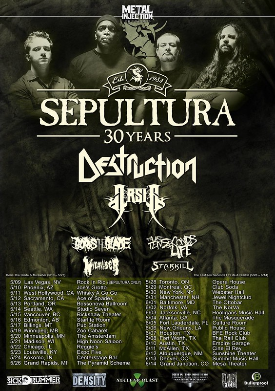 Sepultura at Baltimore Soundstage