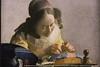 La représentation continue 1625 - Johannes Vermeer, 1632-1675, La Dentellière, v. 1669/70, dét. — Musée du Louvre, Paris, France