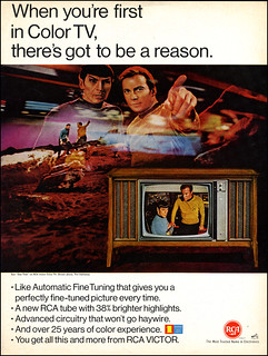 1967 Star Trek RCA Color TV Ad