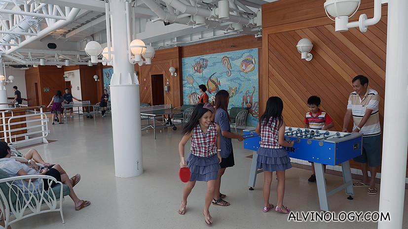 Activities area