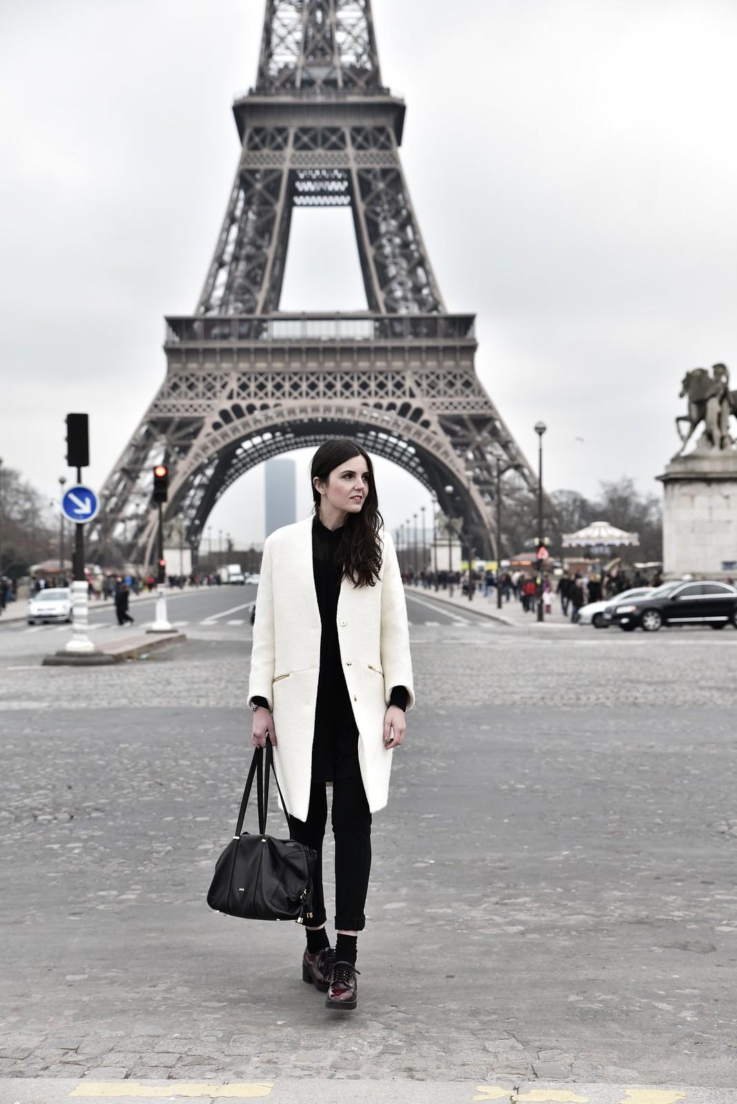 white coat Paris1