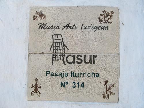Sucre: el Museo del Arte Indigena
