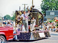 Passing Float, 1996 Arlington July 4 Parade