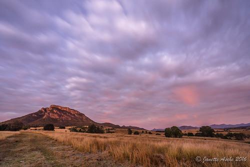 longexposure winter grass clouds rural sunrise wow track farm australia farmland le qld queensland 2016 scenicrim mtmaroon seqld sonya7r