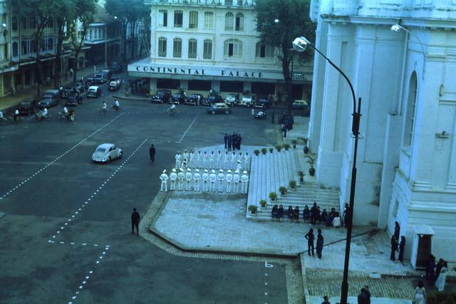 SAIGON June 1963 - Hôtel Continental Palace - QUỐC HỘI