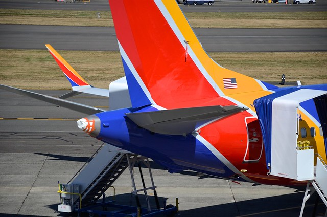 Southwest Airlines Boeing 737-8 Max N8706W 1A006