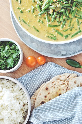 Coconut Green Bean Curry | by Hapaway