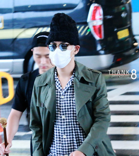 BIGBANG Arrival ICN from Malaysia 2015-07-26 HQs by GDREIRA 009