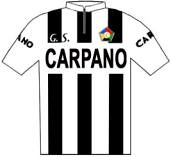 Carpano - Giro d'Italia 1962