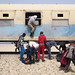 Mine workers arrive in Nouadhibou, Mauritania