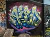 Aero graffiti, Leake Street