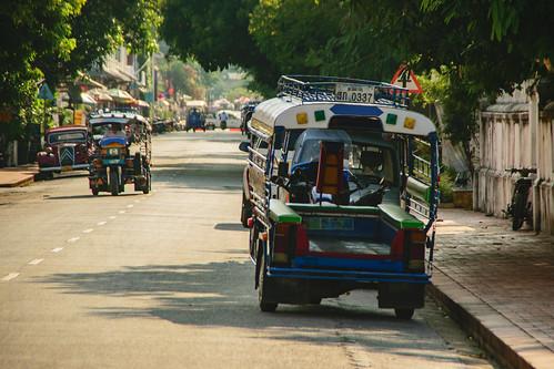 Tuk-tuks, Luang Prabang, Laos