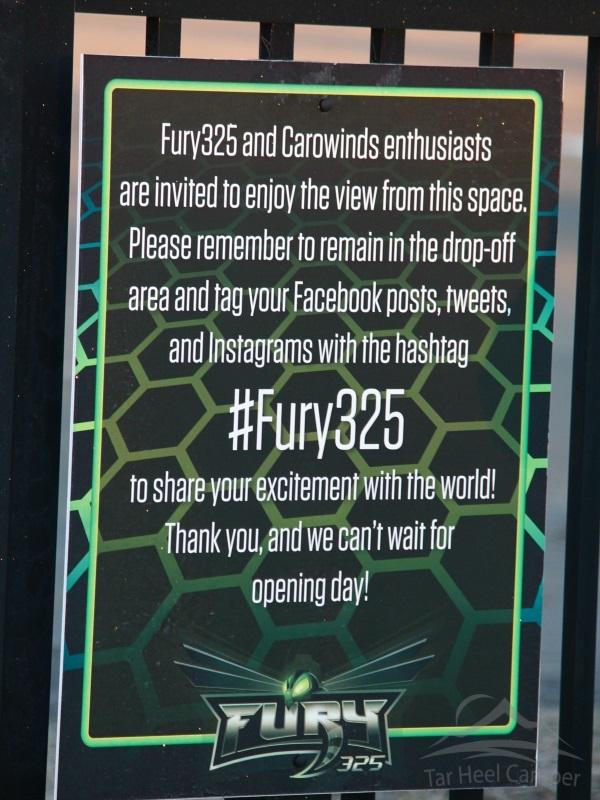 Fury 325 Dropoff