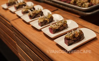 Savoury Chef: Kasu cured grilled flat iron steak