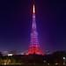 東京タワー・クリスマス・ダイアモンドヴェール2014 Tokyo Tower by ELCAN KE-7A