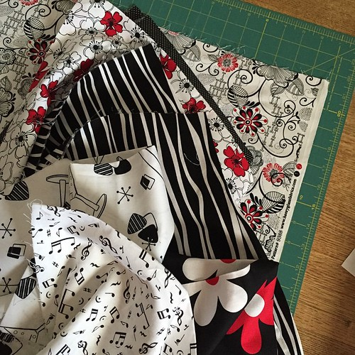 25:365 #HMQG charity quilt is finally on the cutting table.