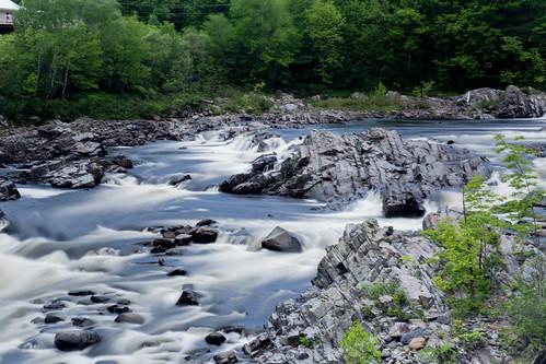 longexposure bridge nature water river maine filter nd northanson