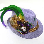 Krewe of Athena decorated hat