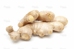 Ginger root isolated on white background (XXXL) -…