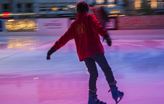 skating, ice dancing, winter sport, sports, recreation, axel jump, ice skating, ice rink, figure skating,