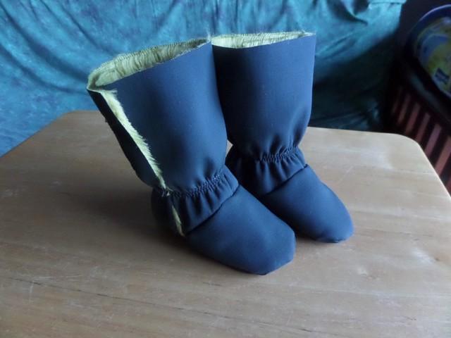 fleece boots