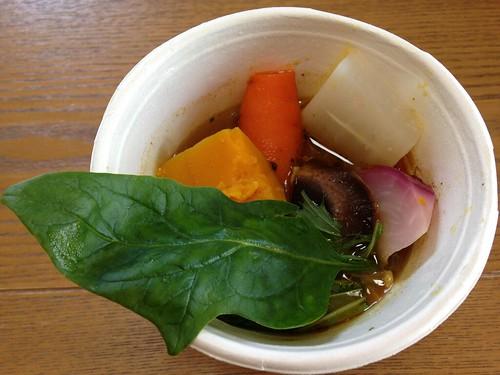 奥芝商店 ひき肉と蒸し野菜とキノコのカリー