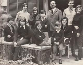 Familia Cruz Vergara. 1972