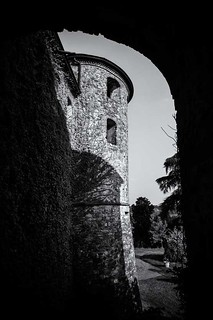 Tower of Agazzano castle