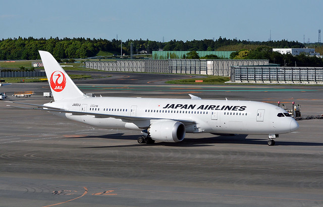 JAL JA831J, Boeing 787-8 at NRT