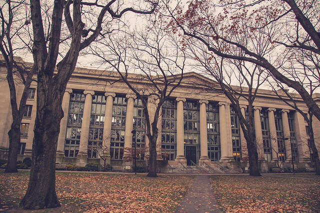 Langdell Hall - Harvard