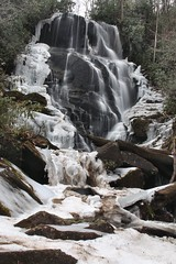 Icy Eastatoe Falls