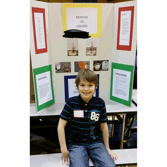 Elementary School Science Fair. 1 hour in and every kid in the gym is going crazy!!!