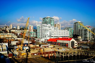View from Lonsdale Quay, North Vancouver.