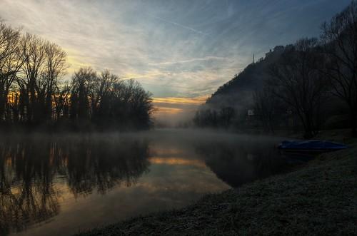 italy mist fog sunrise river dawn haze nikon italia alba fiume nebbia hdr adda pattanaik fattal qtpfsgui mantiuk06 reinhard05 d5100