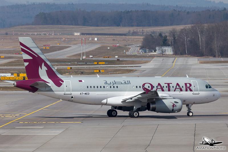A7-MED / Qatar - Amiri Flight / Airbus A319-133X(CJ)