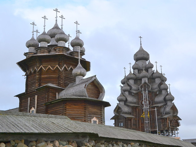Kizhi Island - Kizhi Pogost - Winter Church