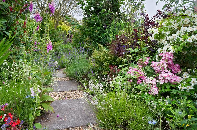 Cottage Garden Flower Border in Suffolk, UK | English Flower Borders ( 26 of 50)