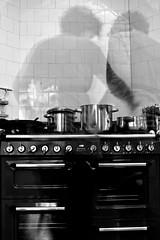 kitchen(1.0), white(1.0), room(1.0), monochrome photography(1.0), kitchen stove(1.0), monochrome(1.0), black-and-white(1.0), black(1.0),