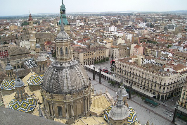Spain - Zaragoza - Plaza del Pilar