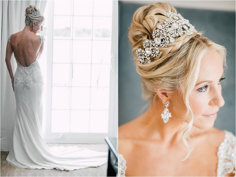 Lorie- Custom crystal crown- Bridal Styles Boutique