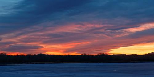 sunset usa twilight colorado dxo allrightsreserved cherrycreekreservoir cherrycreekstatepark ef24105mmf4lis canon5dmkiii primenoisereduction copyright2015davidcstephens dxoopticspro101 z5a5300dxosrgb 02052015