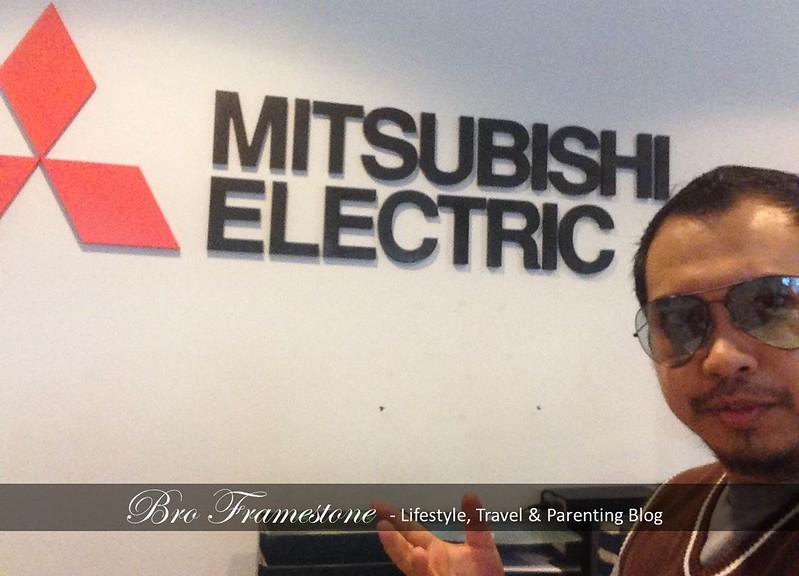Mitsubishi Electric Parenting Blogger Bro Framestone