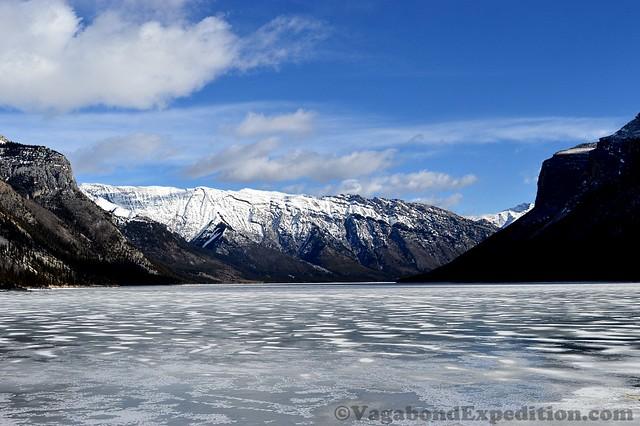 1024 - ve - lake minnewanka frozen scene DSC_1685
