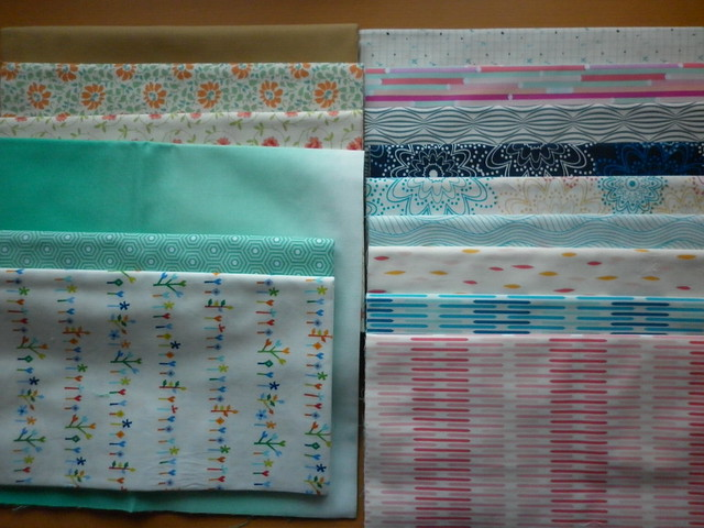 Fat Quarter Shop/Finish Along winnings!