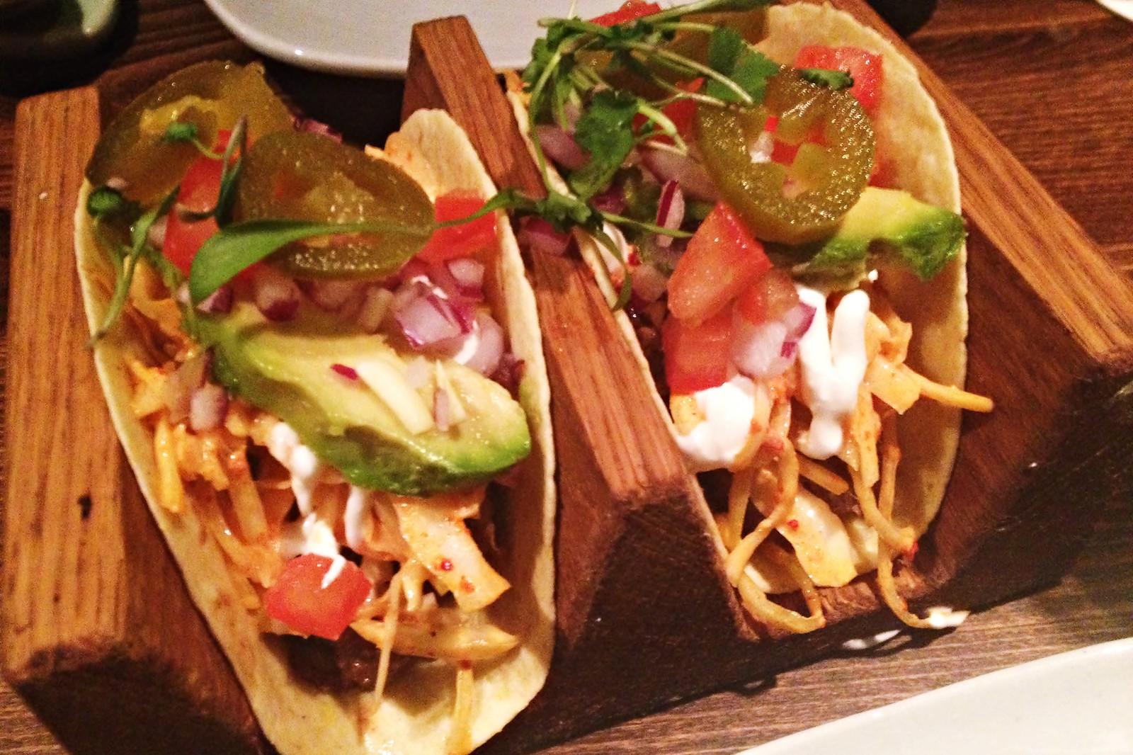 Jinjuu Bulgogi Tacos